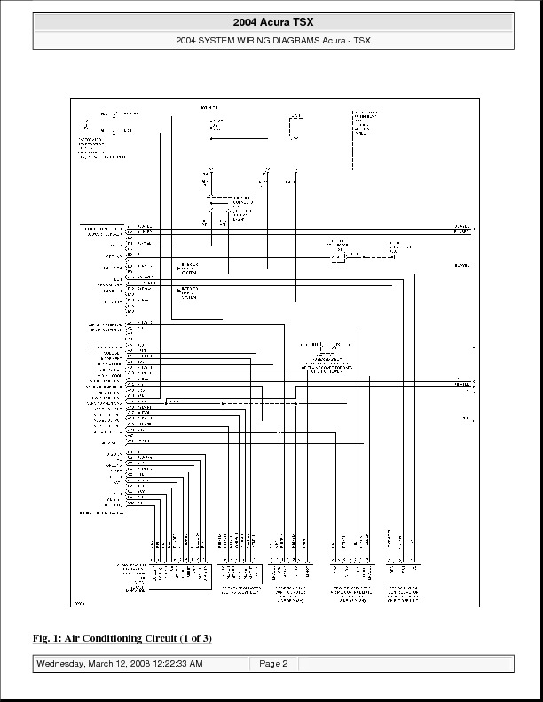 Acura Car Manuals Wiring Diagrams Pdf Fault Codesrhautomotivemanuals: 2005 Acura Mdx Wiring Diagram Free At Elf-jo.com