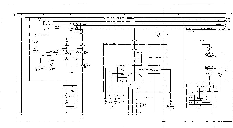 Acura Integra Wiring Diagram : Service manual acura integra wiring diagram