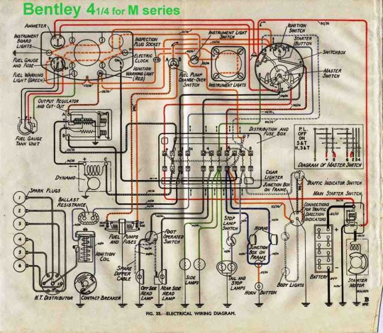 wiring diagram of bentley 4 1 4l m series?t=1507809822 bentley car manuals, wiring diagrams pdf & fault codes bentley wiring diagrams at fashall.co