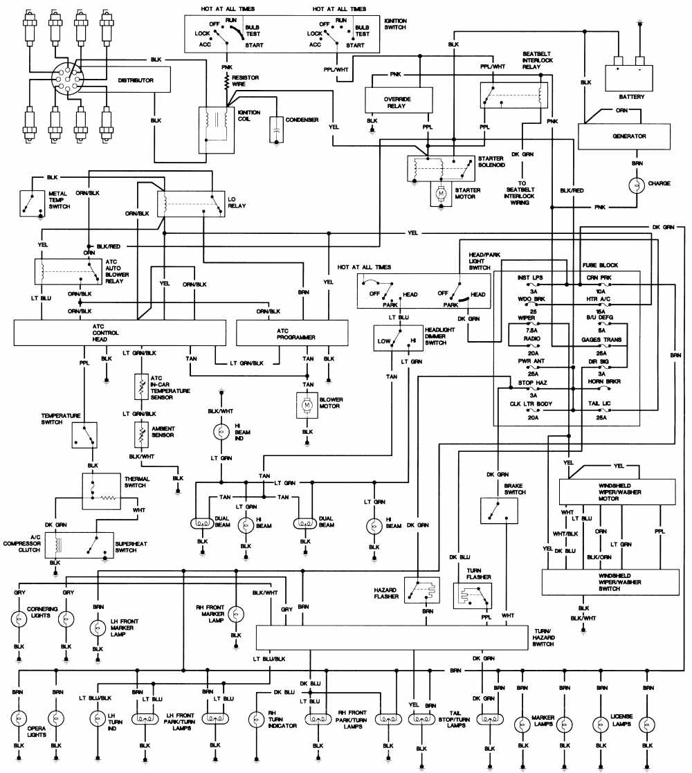 wiring diagram for 97 cadillac sts