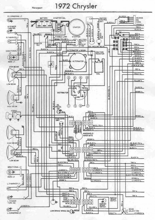 1953 chrysler wiring chrysler wiring diagrams instructions rh appsxplora co Automotive Wiring Harness Connectors OEM Wiring Harness Connectors