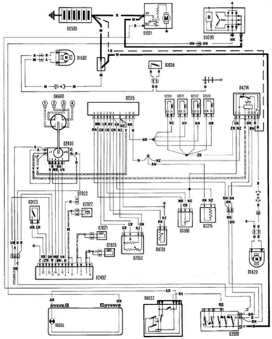Wiring Diagram For Fiat Uno Wiring Center Matelabco