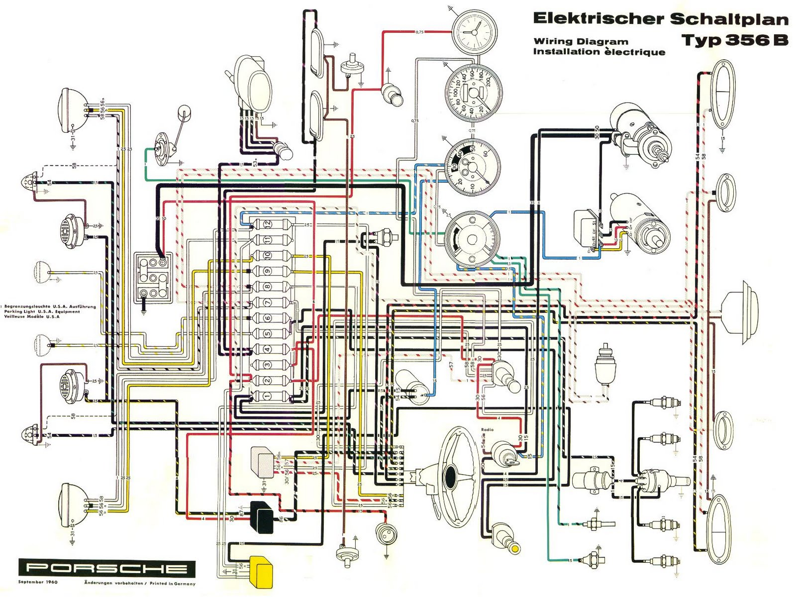1987 Porsche 924s Ignition Wiring Diagram | Repair Manual