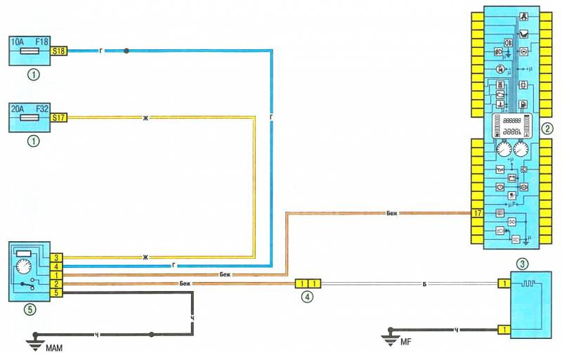 Renault Car Manuals, Wiring Diagrams Pdf & Fault Codes - Repair Wiring Scheme