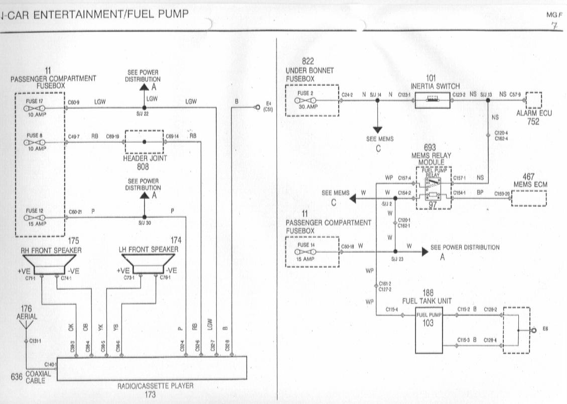 rover 25 wiring diagram dolgular com Ford Truck Radio Wiring Diagram rover 400 radio wiring diagram
