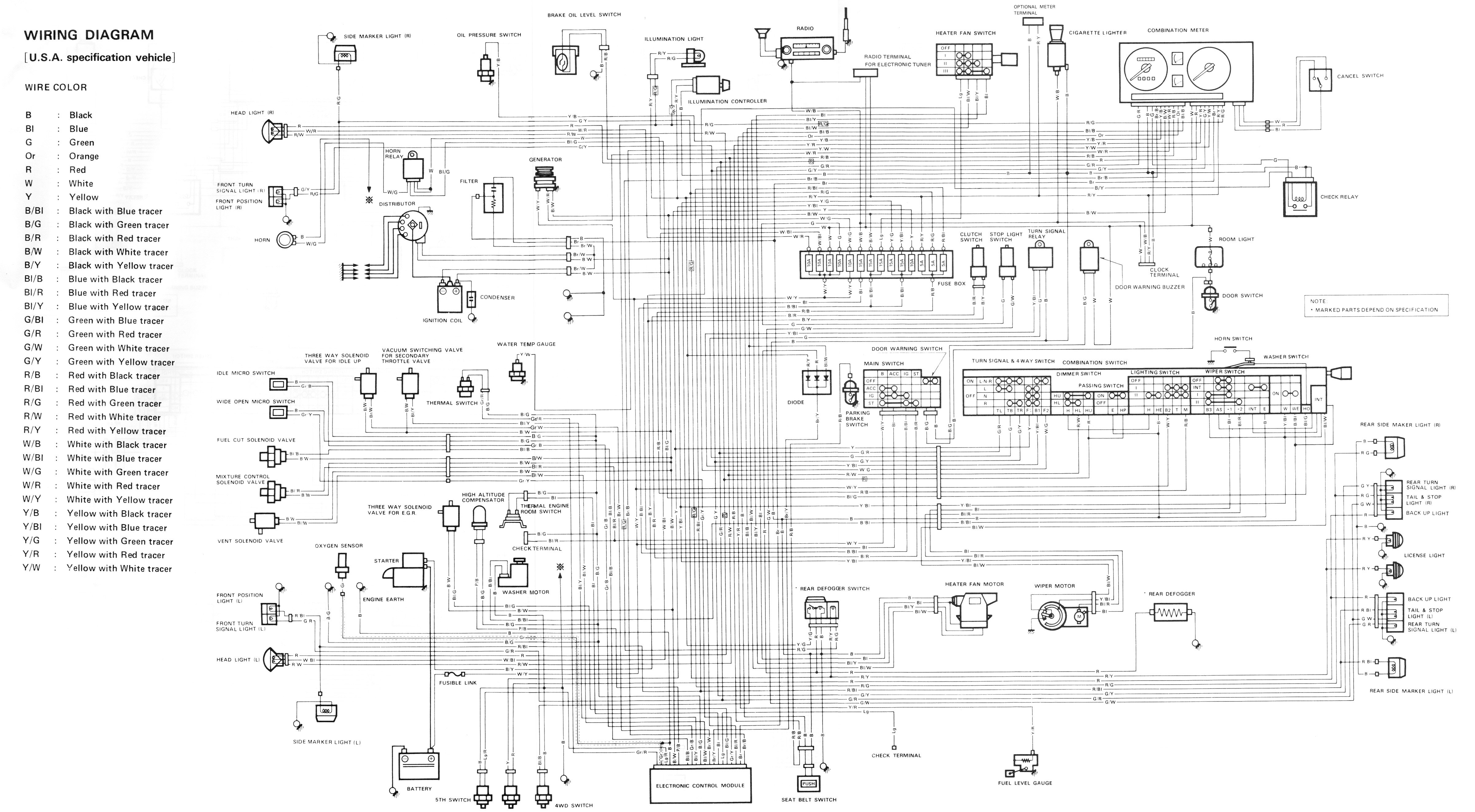 87  maruti car wiring diagram