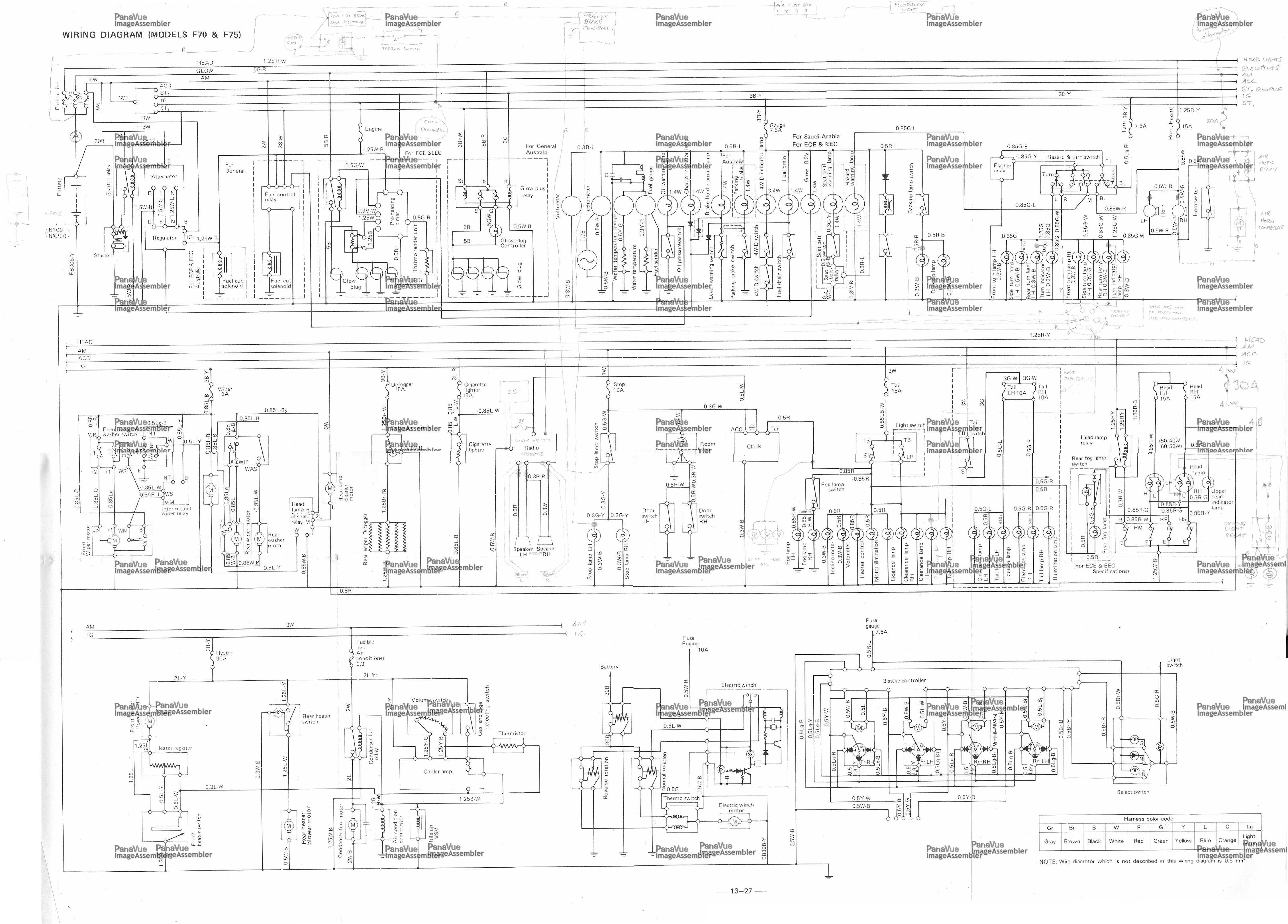 daihatsu l7 wiring diagram