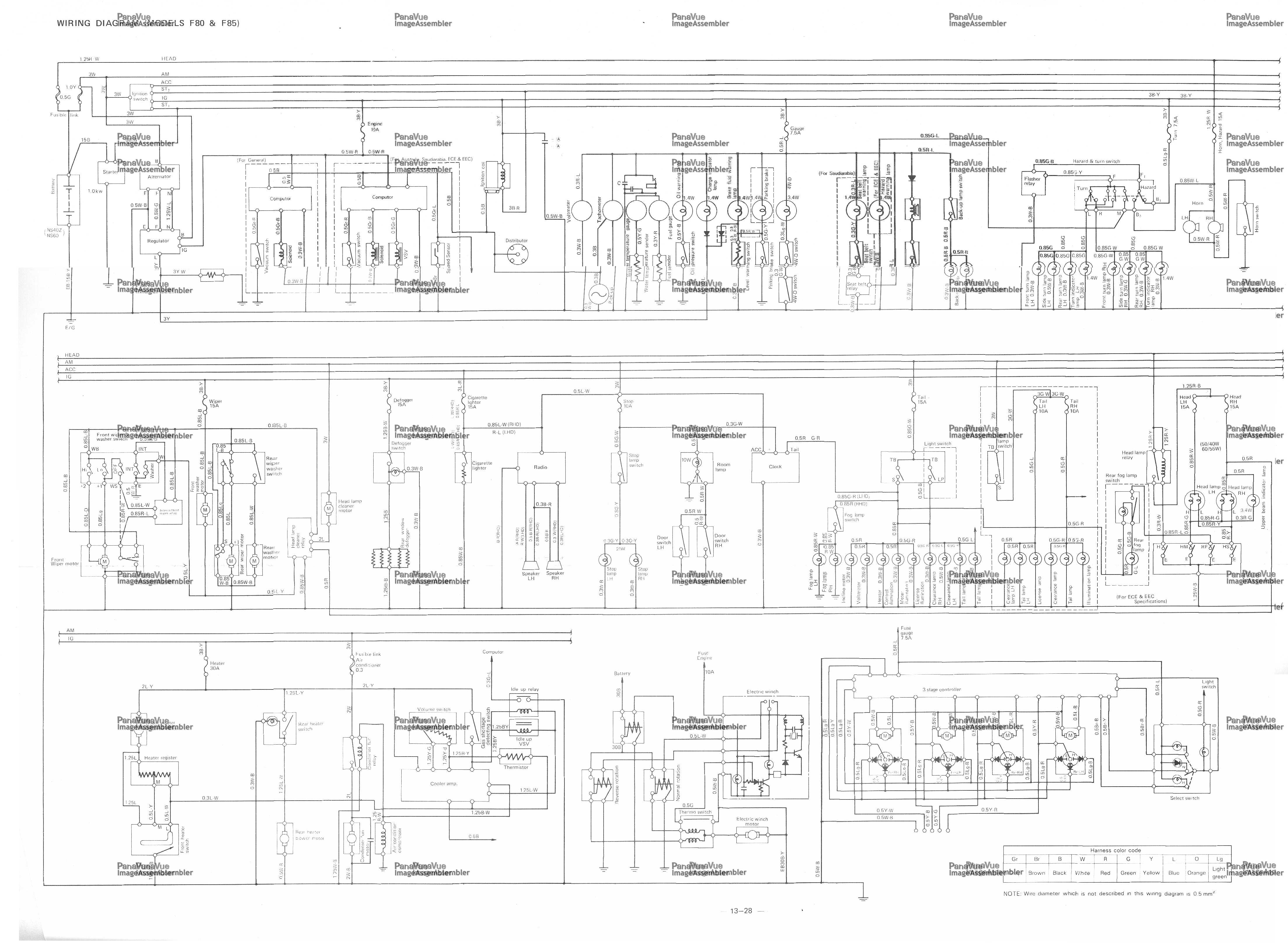 daihatsu l7 wiring diagram wiring info u2022 rh datagrind co Daihatsu Mira MCM Daihatsu Hijet