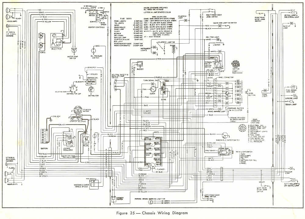 1967 pontiac wiper motor wiring diagram html