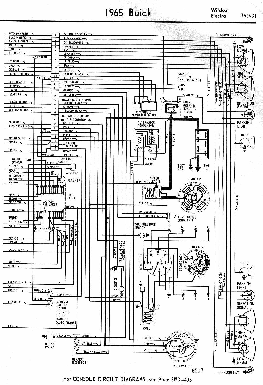 wiring diagram for 1965 buick wildcat and electra part 2?t=1508139226 buick car manuals, wiring diagrams pdf & fault codes 1966 buick skylark wiring diagram at crackthecode.co