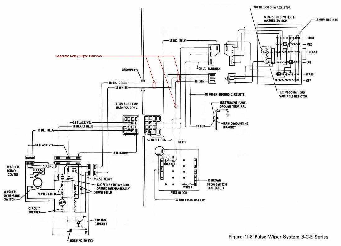 electrical wiring diagram 1966 gto