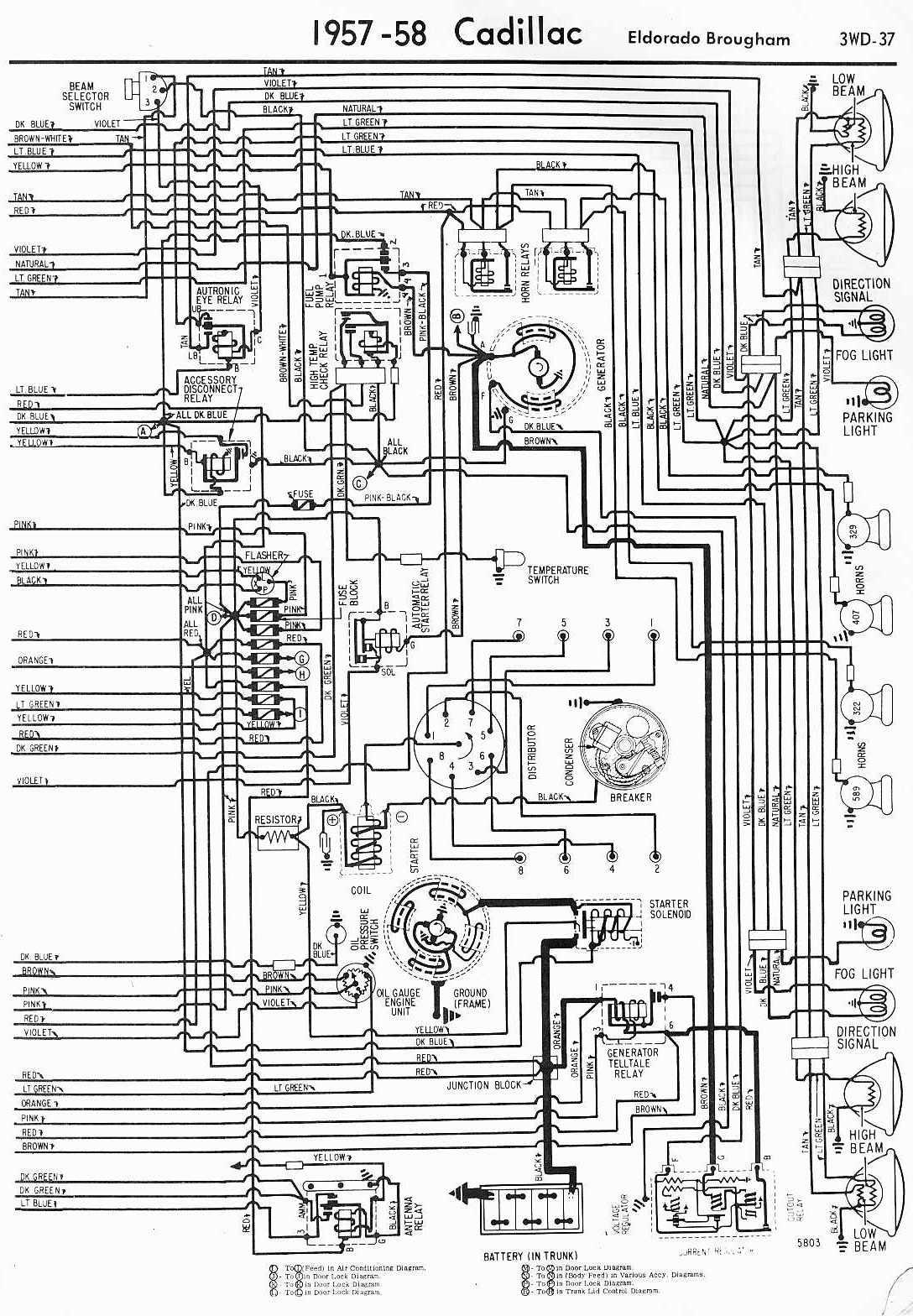 1961 cadillac distributor wiring electrical wiring diagrams rh cytrus co 1962 Cadillac Wiring Cadillac DeVille Wiring-Diagram