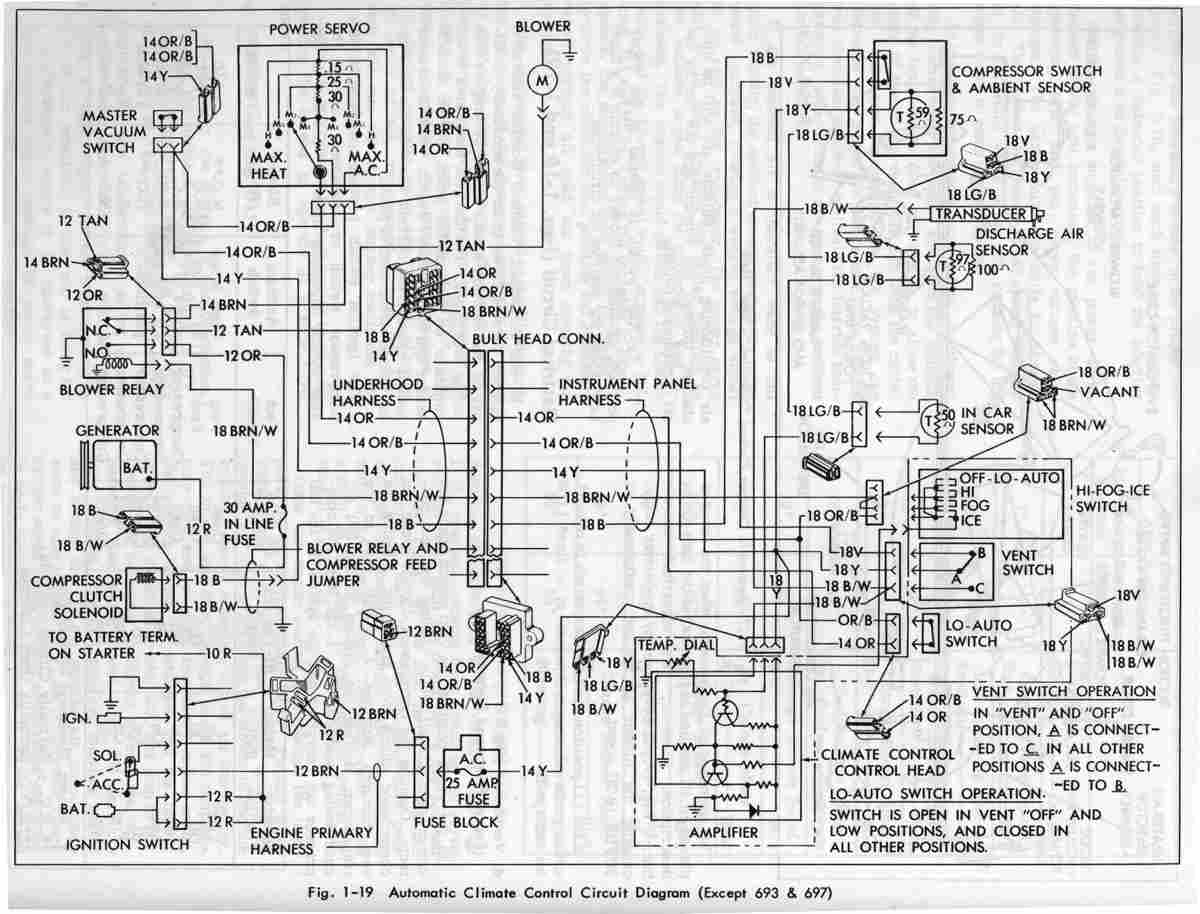 automatic control circuit diagram of 1967 cadillac eldorado?t=1508149295 cadillac car manuals, wiring diagrams pdf & fault codes 2000 Cadillac Escalade Radio Comes On and Off at gsmx.co