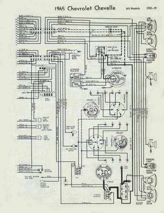 1965 chevy el camino wiring diagram circuit diagram symbols u2022 rh armkandy co 1969 Chevelle Dash Wiring Diagram 1965 Chevelle Wiring Diagram