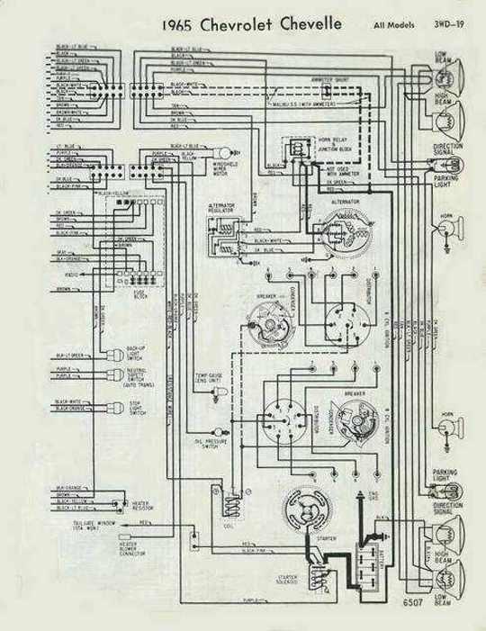 1968 Chevy El Camino Wiring Diagram Wiring Diagram