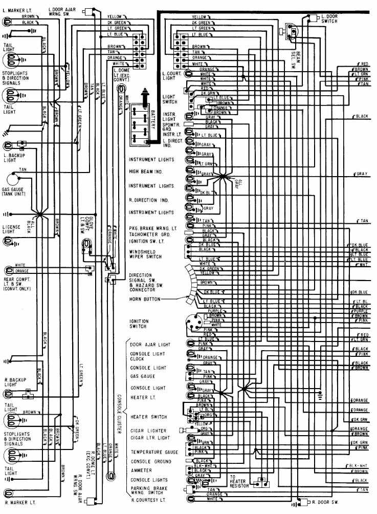 wiring diagram of 1968 chevrolet corvette?t=1508393175 chevrolet car manuals, wiring diagrams pdf & fault codes 1979 corvette wiring diagram download at aneh.co
