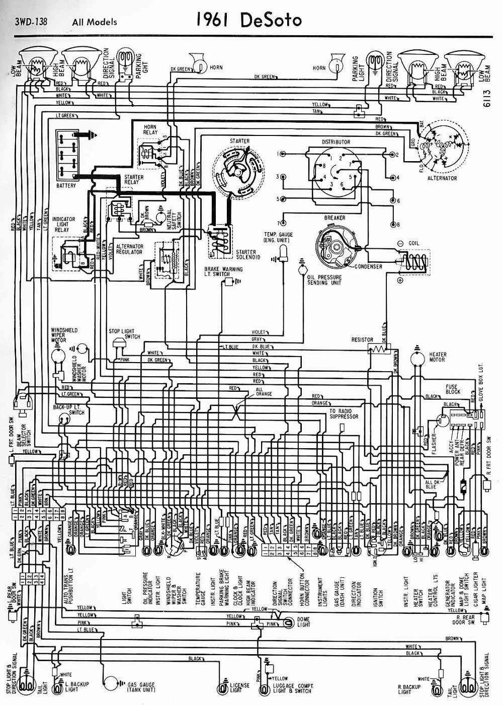 1951 Dodge Wiring Diagram