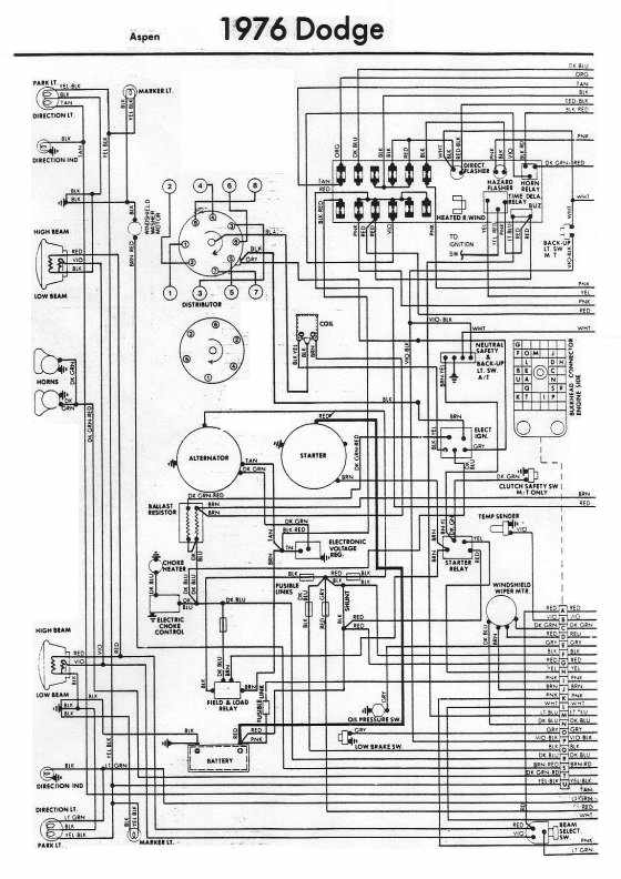 1975 dodge truck wiring diagram wiring diagram rh blaknwyt co 1970 Dodge Truck Wiring Diagram Dodge Truck Electrical Diagrams