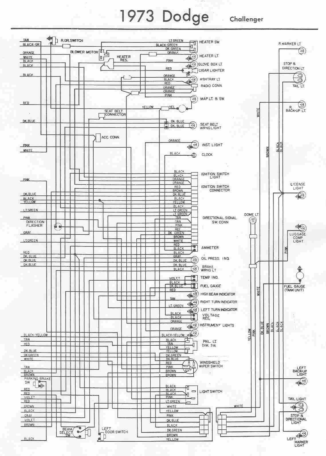 Dodge Challenger Wiring Diagram - Somurich.com
