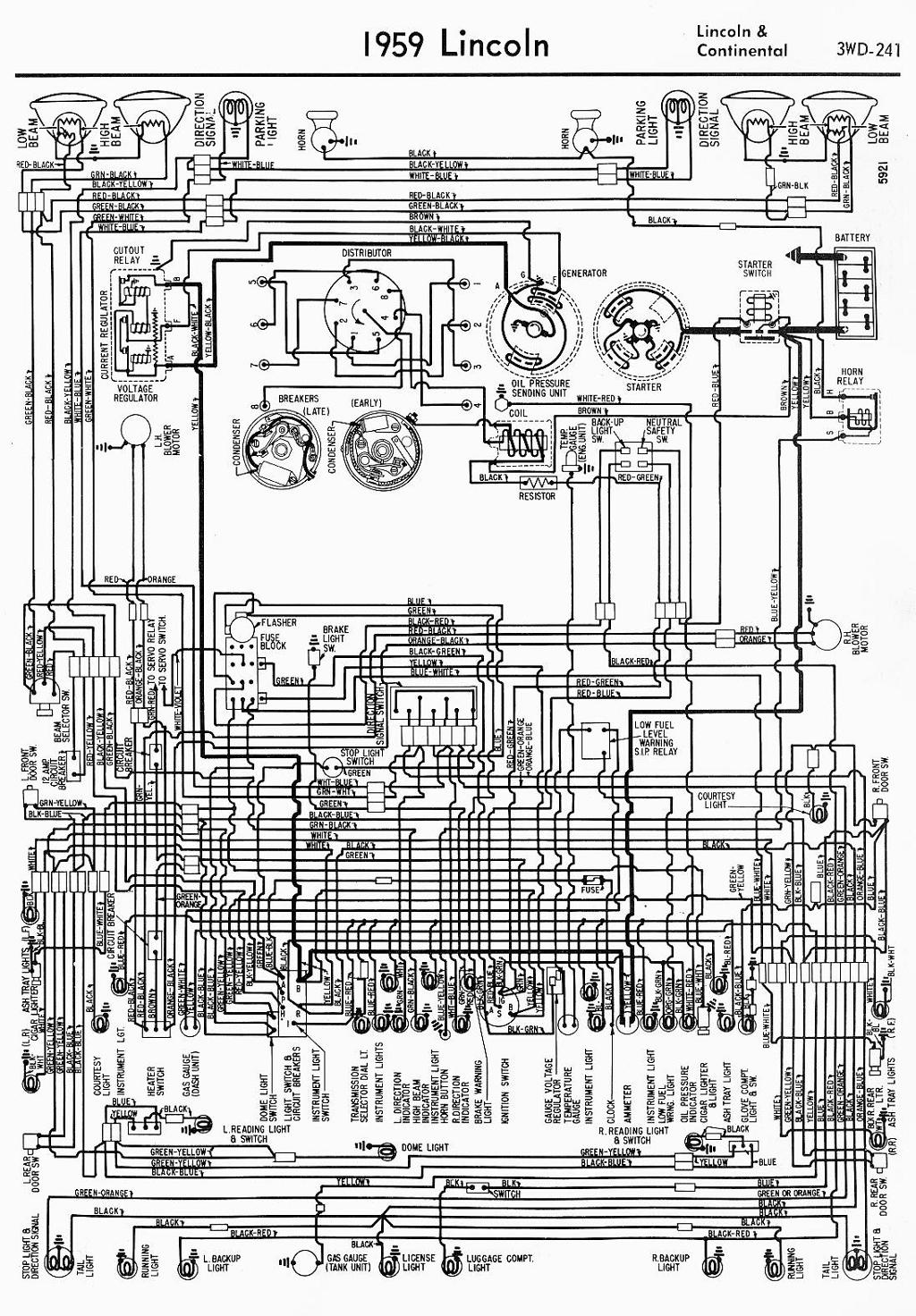 wiring diagram for 1959 lincoln continental?t=1508494920 lincoln car manuals, wiring diagrams pdf & fault codes 1954 Lincoln Continental at soozxer.org