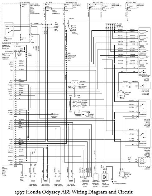 honda car wiring diagram technical diagrams 2004 Honda Odyssey Wiring Diagram