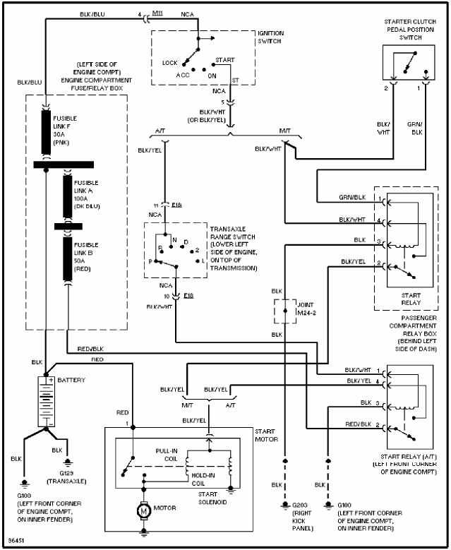 2000 Hyundai Accent Fuel Pump Wiring Diagram