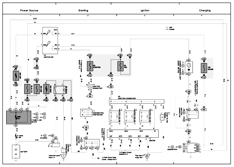 Lexus Electrical Wiring Diagram for a 2002 lexus rx300 wiring diagram lexus wiring diagram 2002 Lexus RX300 Interior at couponss.co