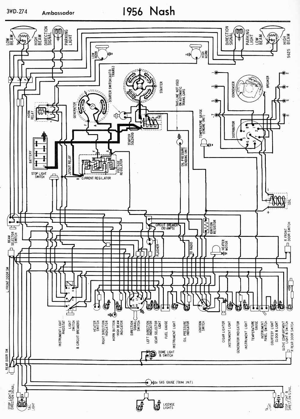 1941 Oldsmobile Wiring Diagram Trusted Diagrams 1958 Schematic 1955