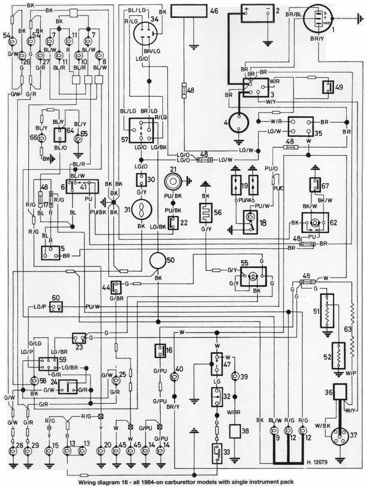 wiring diagram of 1984 onwards all mini series with single instrument pack?t=1508499127 mini car manuals, wiring diagrams pdf & fault codes mini r56 wiring diagram pdf at mifinder.co