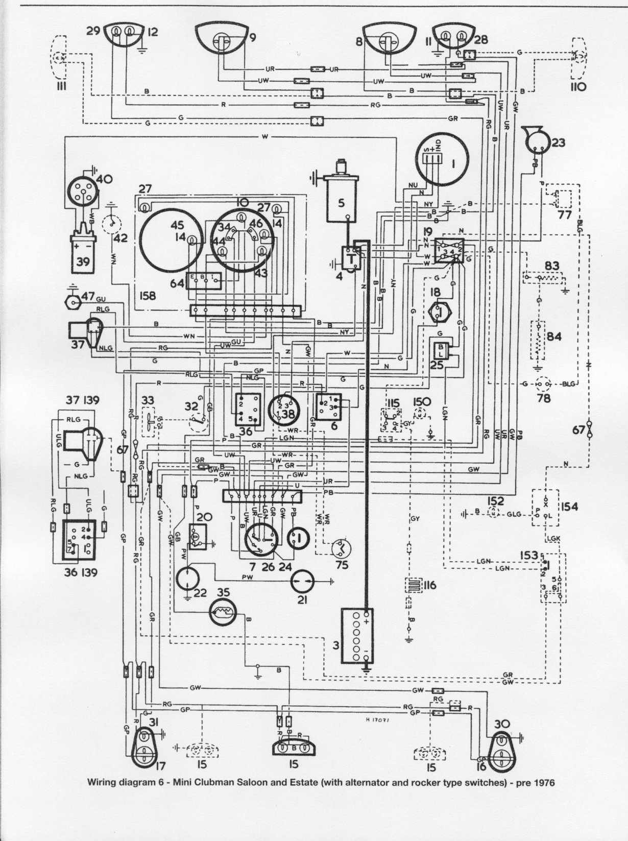 Mini Rover Wiring Diagrams - House Wiring Diagram Symbols •