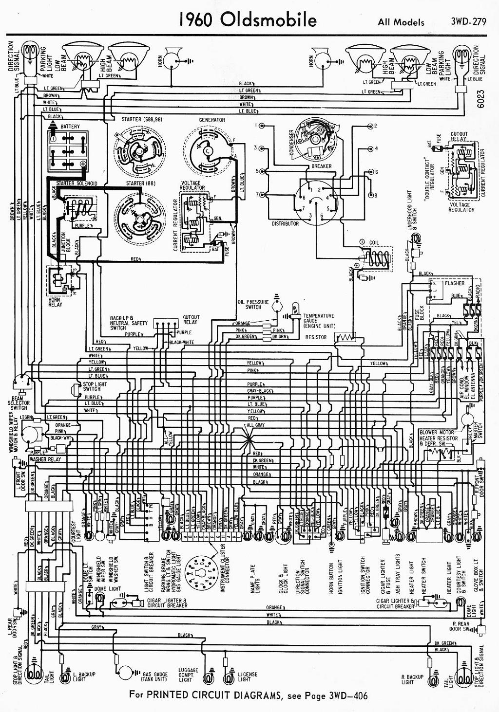 1950 Cadillac Wiring Schematic Library Engine Compartment Light Diagram For 1953 Studebaker Champion And Commander 1957 Oldsmobile Enthusiast Diagrams U2022 65