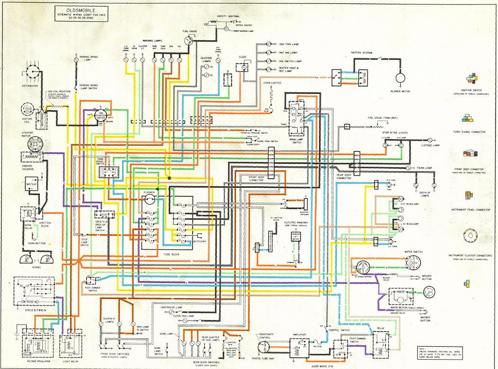 dash wiring diagram 1956 chevy bel air 55 chevy horn