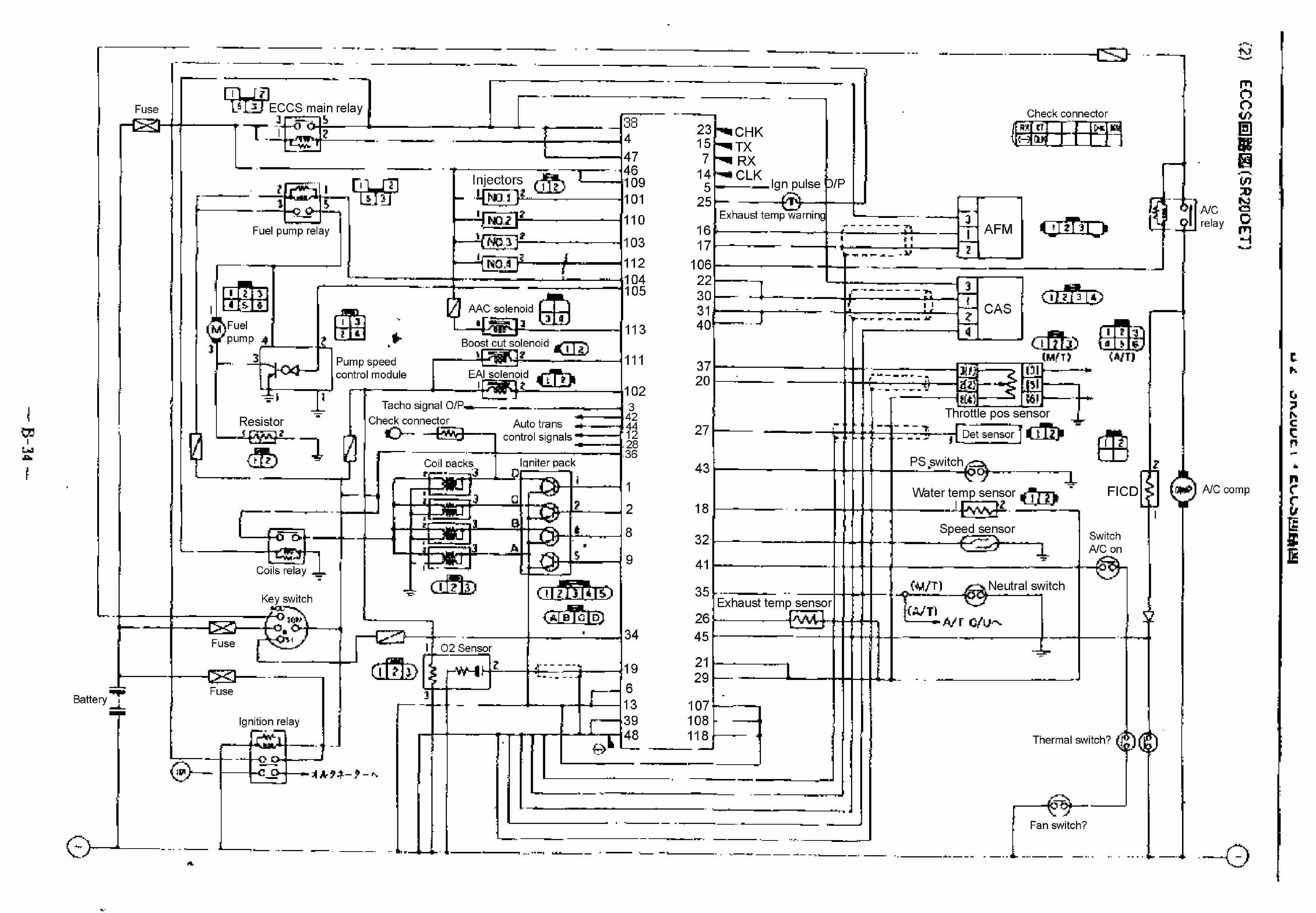 sr20 wiring diagram enthusiast wiring diagrams u2022 rh rasalibre co engine wiring diagram for 08 bmw e64 engine wiring diagram for yerf dog rover