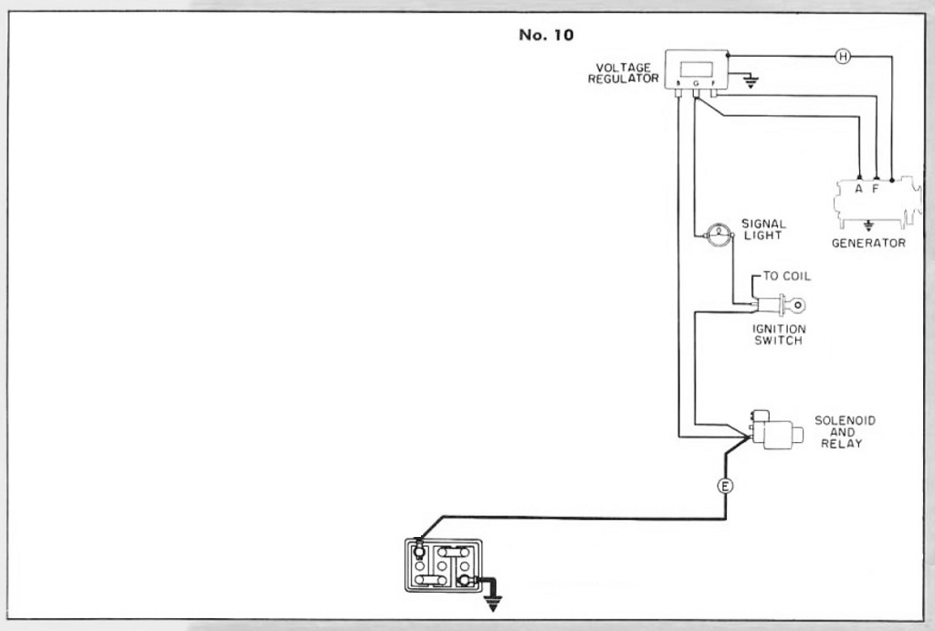 charging circuit diagram for the 1942 47 nash all models wire data rh nbits co
