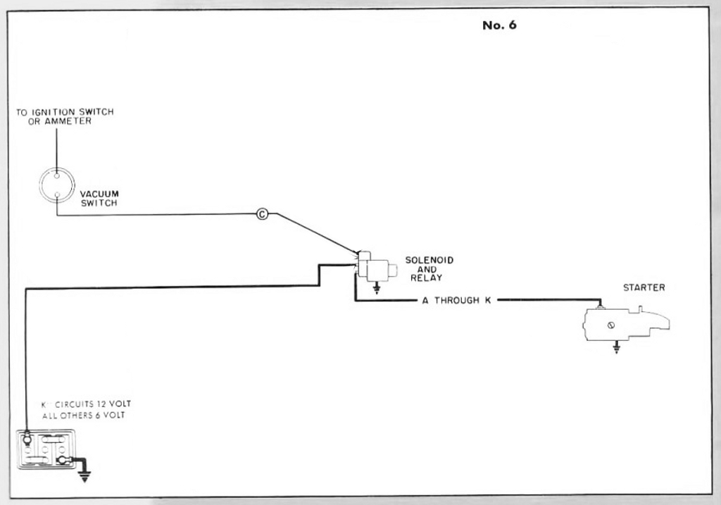 starting circuit diagram for the 1948 50 packard custom 8 wiring rh autonomia co 1956 Chevy Truck Wiring Diagram Computer Wiring Diagram