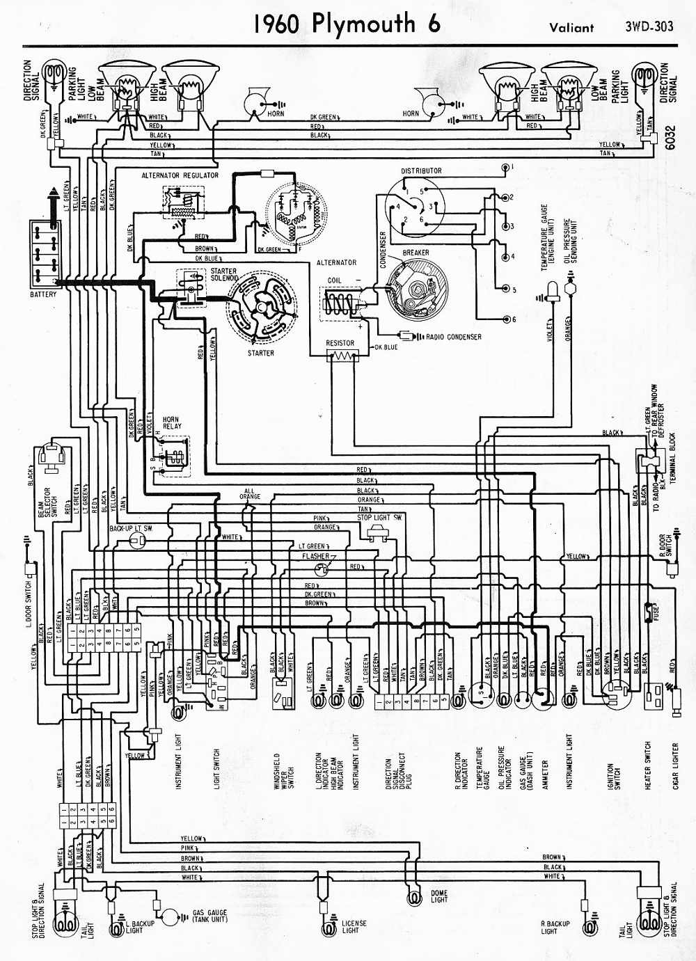 1960 Impala Wiring Diagram With Alternator 1974 Plymouth Scamp Data Duster Ignition Library 1965