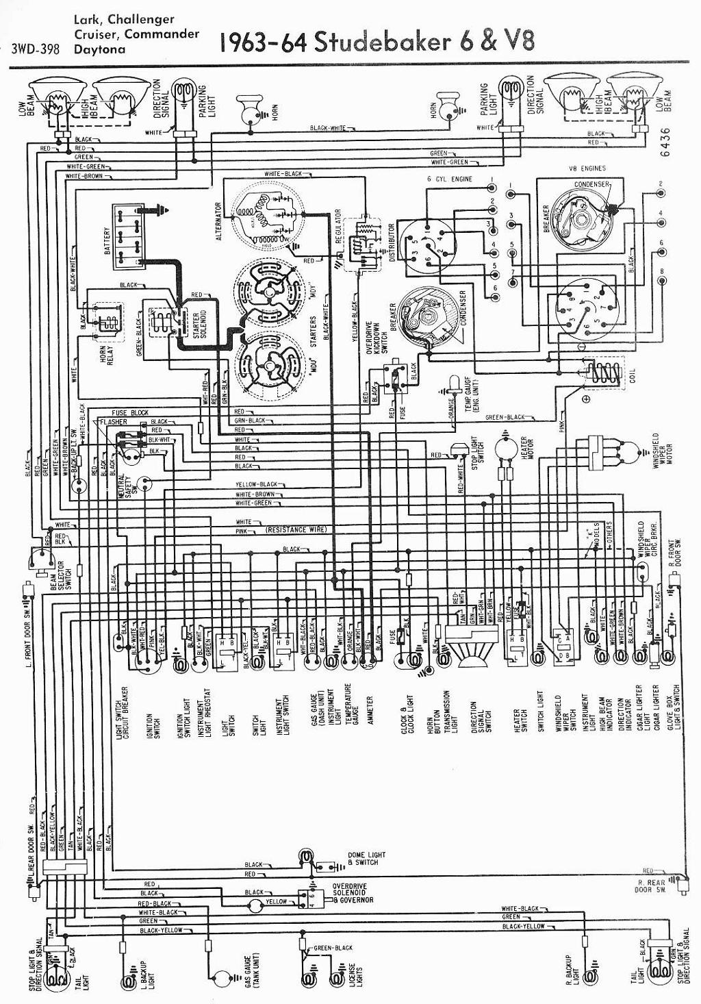 1962 Studebaker Wiring Diagrams - All Wiring Diagram
