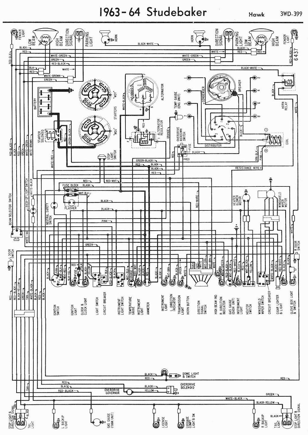 1963 avanti wiring diagram free vehicle wiring diagrams u2022 rh narfiyanstudio com 1953 Studebaker Commander Wiring-Diagram Mazda Generator Wiring Diagram