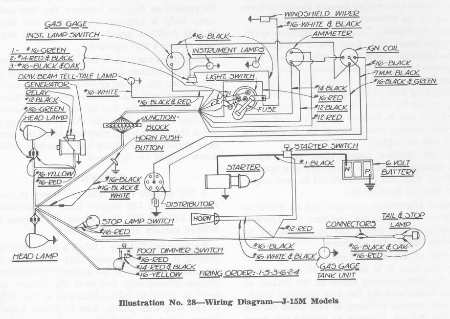 1937 Chevrolet Wiring Diagram - All of Wiring Diagram