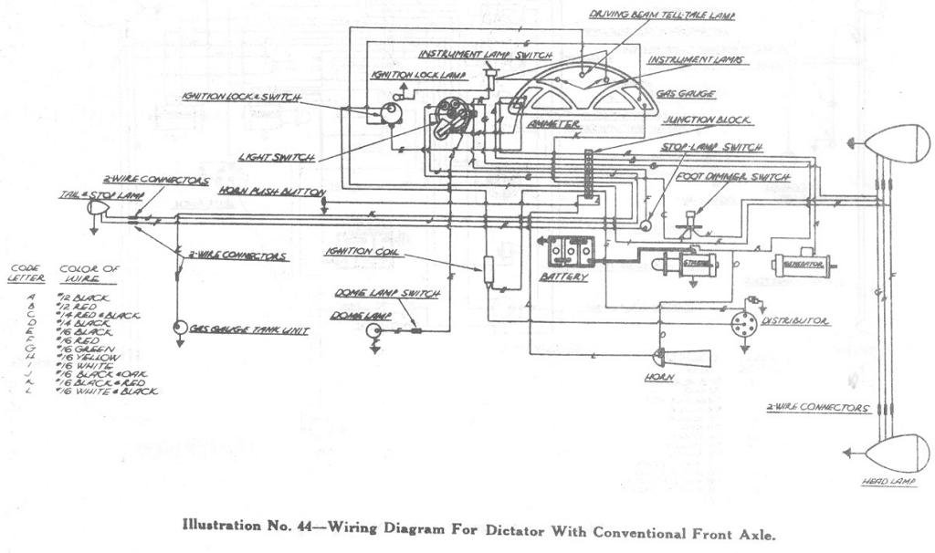 dictator wiring diagram