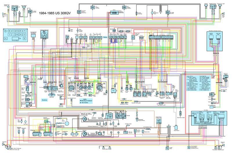 ferrari car manuals wiring diagrams pdf fault codes rh automotive manuals net Ferrari 360 Ferrari 348