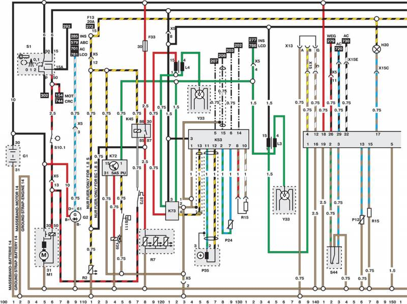 opel speedster wiring diagram [vectra b] [95-02] - wiring diagrams | vauxhall owners ...