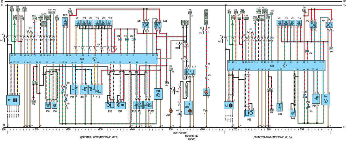 Vectra B   9502      Wiring    Diagrams   Vauxhall Owners