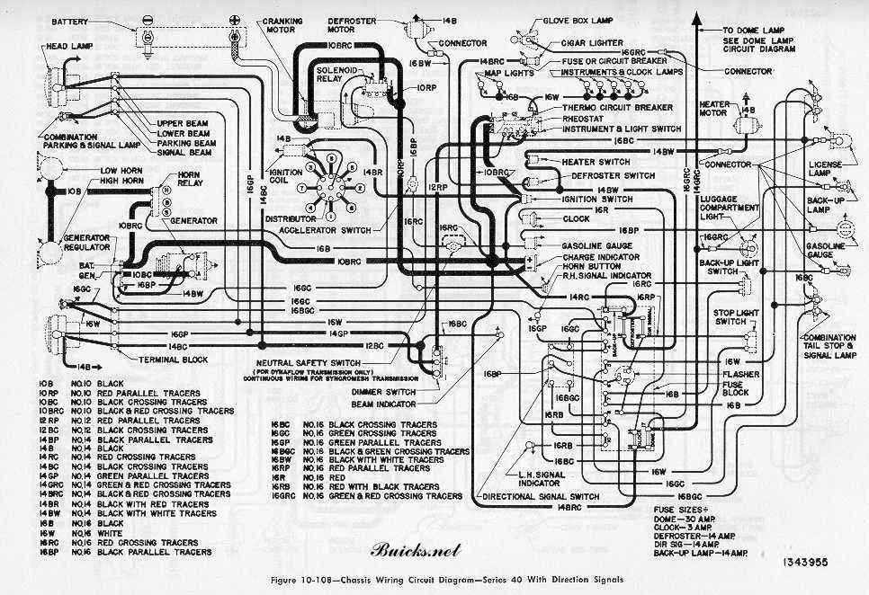 Wiring Diagram Of Buick Roadmaster Series on Buick Reatta Wiring Diagram