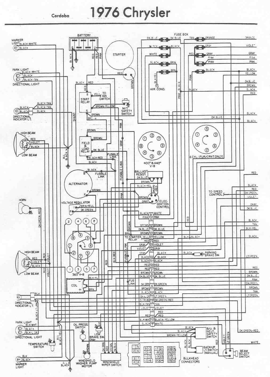 2006 chrysler 300 wiring diagram with diode chrysler - car manuals, wiring diagrams pdf & fault codes #4
