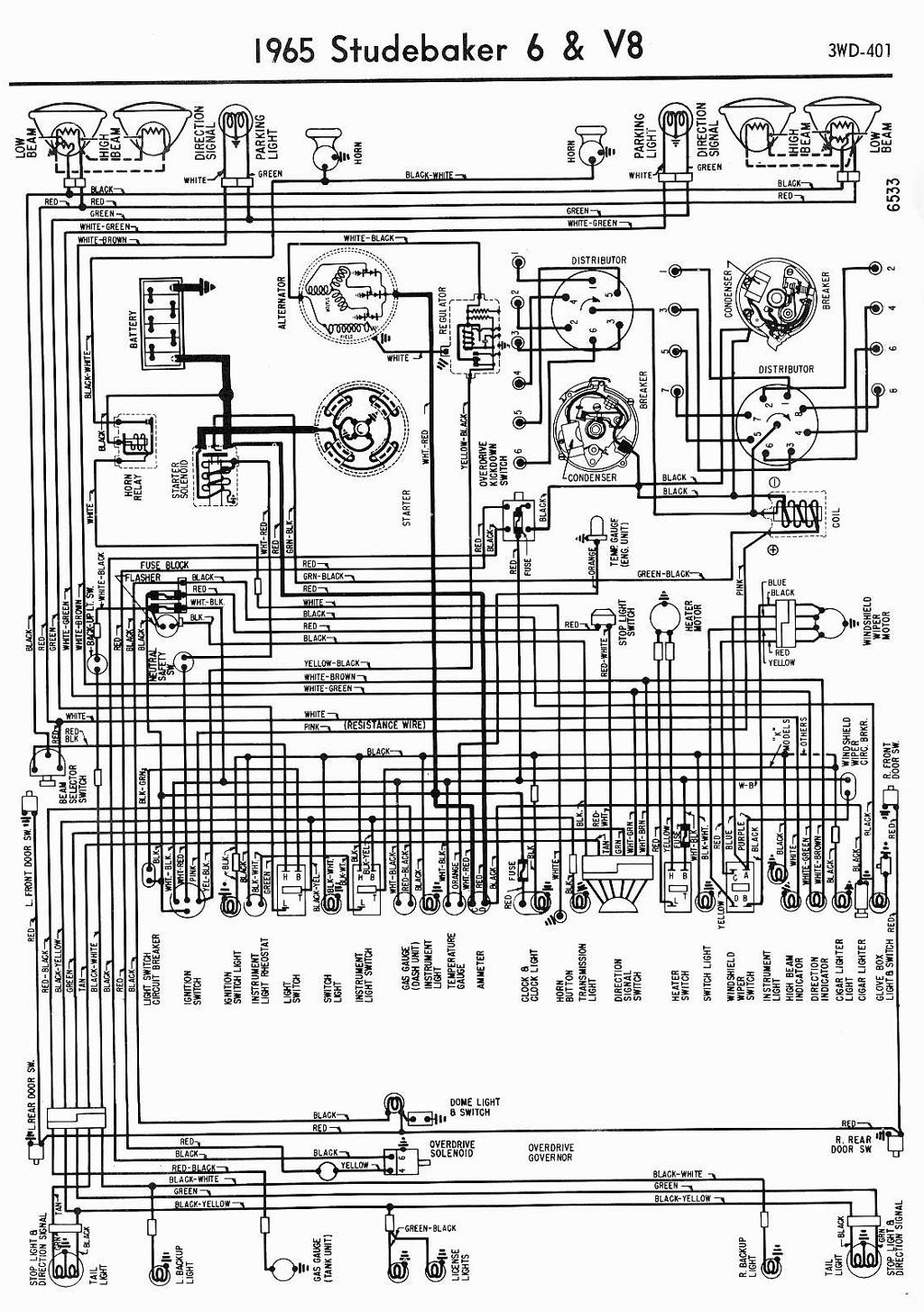 Wiring Diagram For Studebaker And V on 1965 tvr wiring diagram