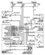 fiero cruise control wiring diagram chevrolet car manuals     wiring       diagrams    pdf  amp  fault codes  chevrolet car manuals     wiring       diagrams    pdf  amp  fault codes