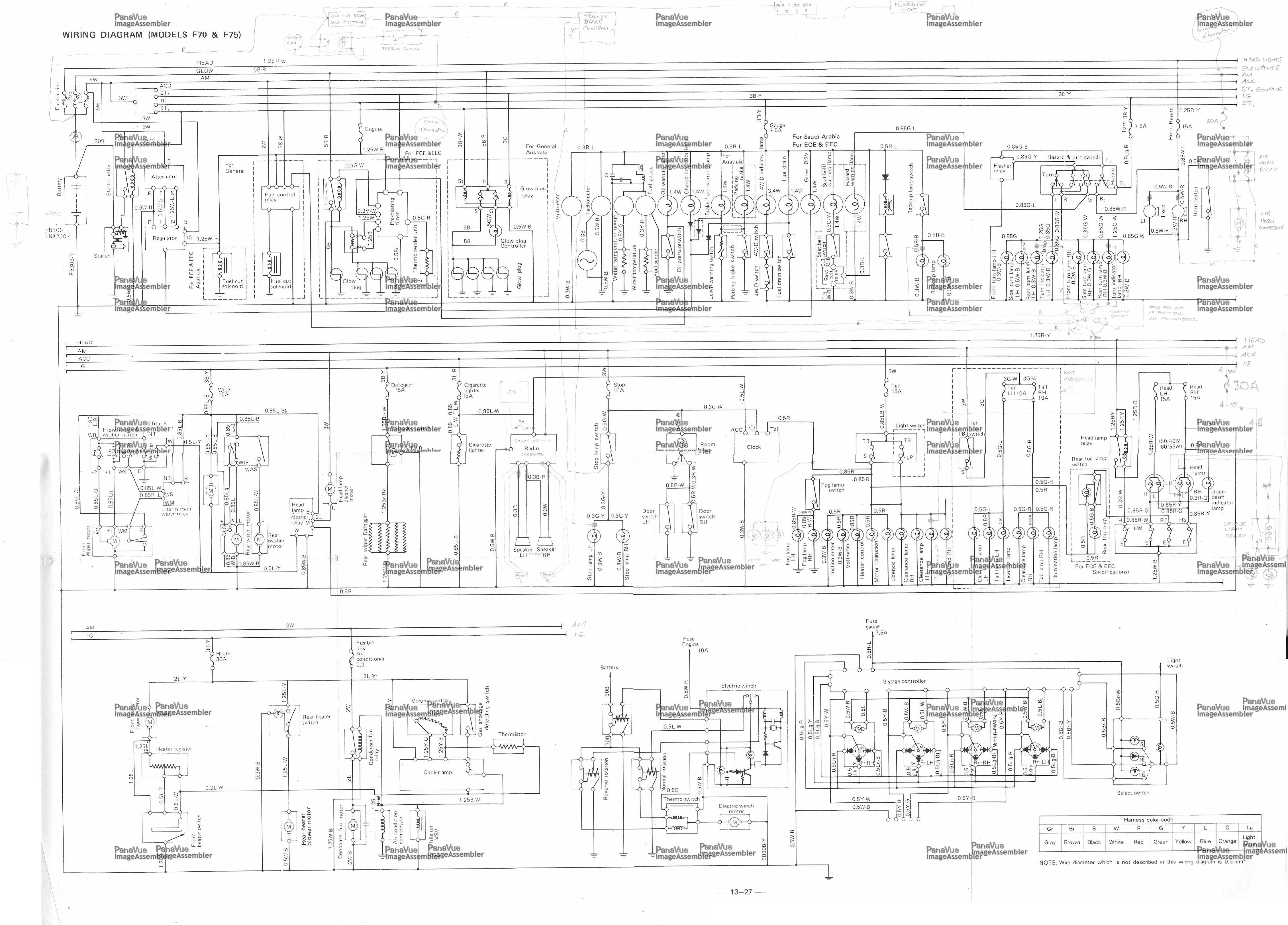 gl1800 wiring schematic