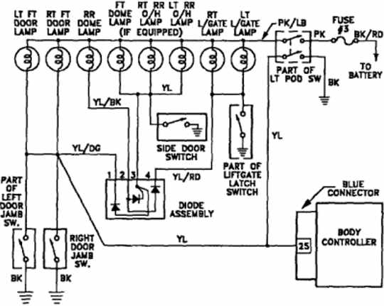 plymouth voyager wiring diagrams automotive