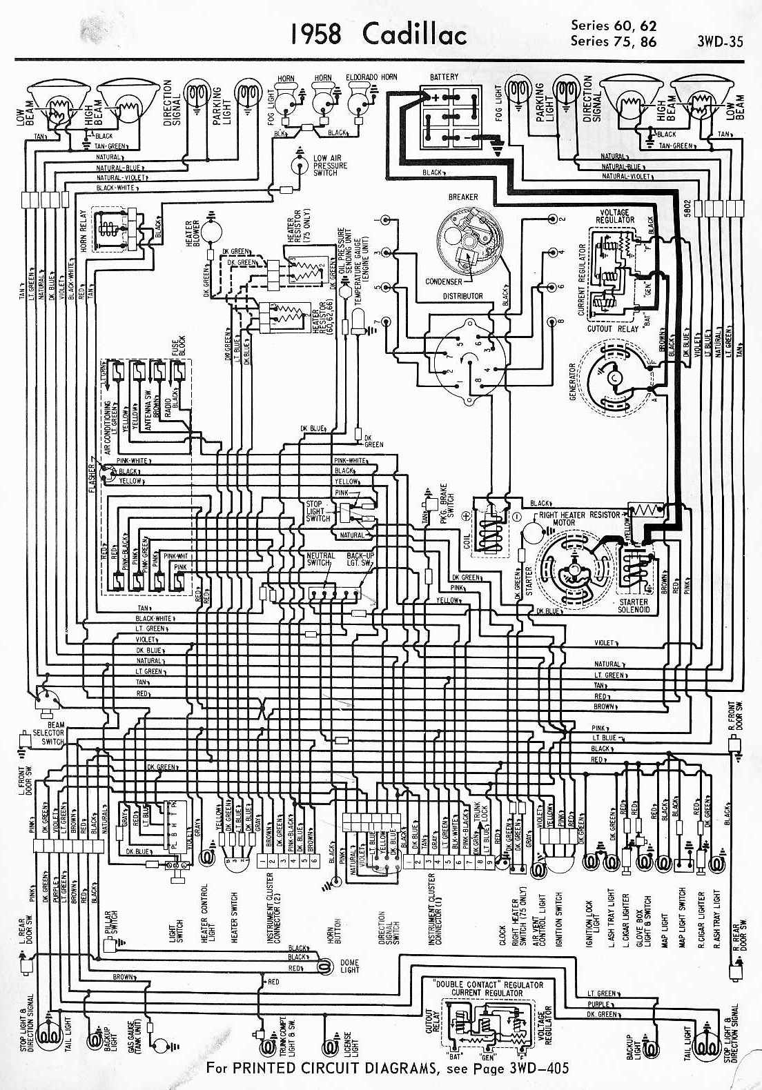 1958 cadillac power seat wiring diagram schematic Gallery